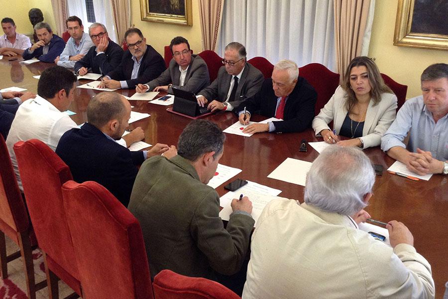 Plataforma Regadios Condado se reúne con la Subdelegación