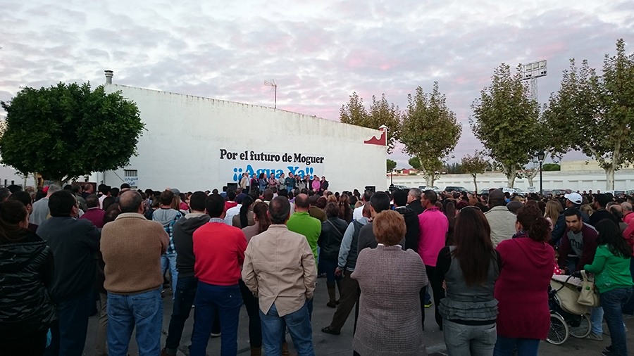 La Plataforma cierra su ronda de asambleas en Moguer