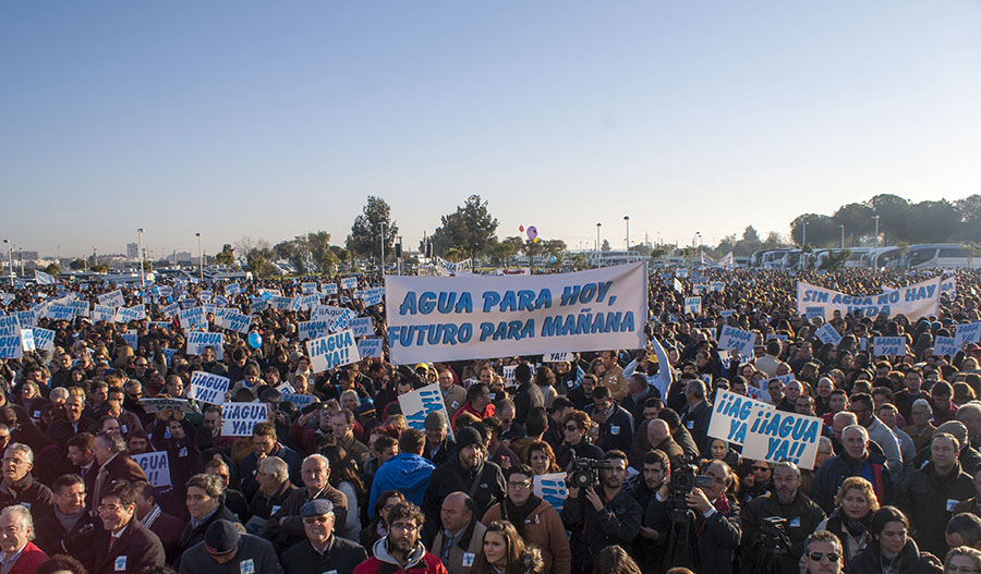 Manifestación del sector del pasado día 15 de enero en Huelva