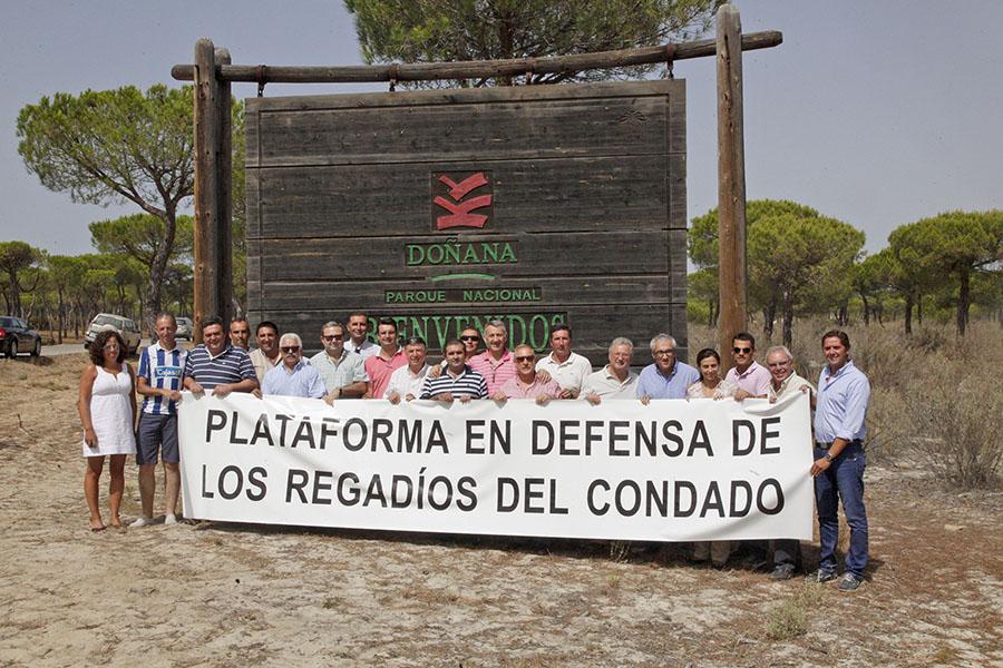 Plataforma en Defensa de los Regadíos, en Doñana