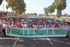 La Plataforma reúne en Huelva a más de 18.000 personas para luchar por la tierra y el agua del Condado