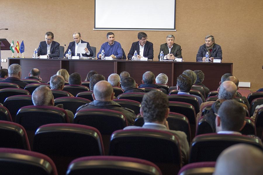 Agricultores del Condado solicitan a Ciudadanos Andalucía su apoyo a la transferencia de 15 hm3 y las tierras de cultivo históricas