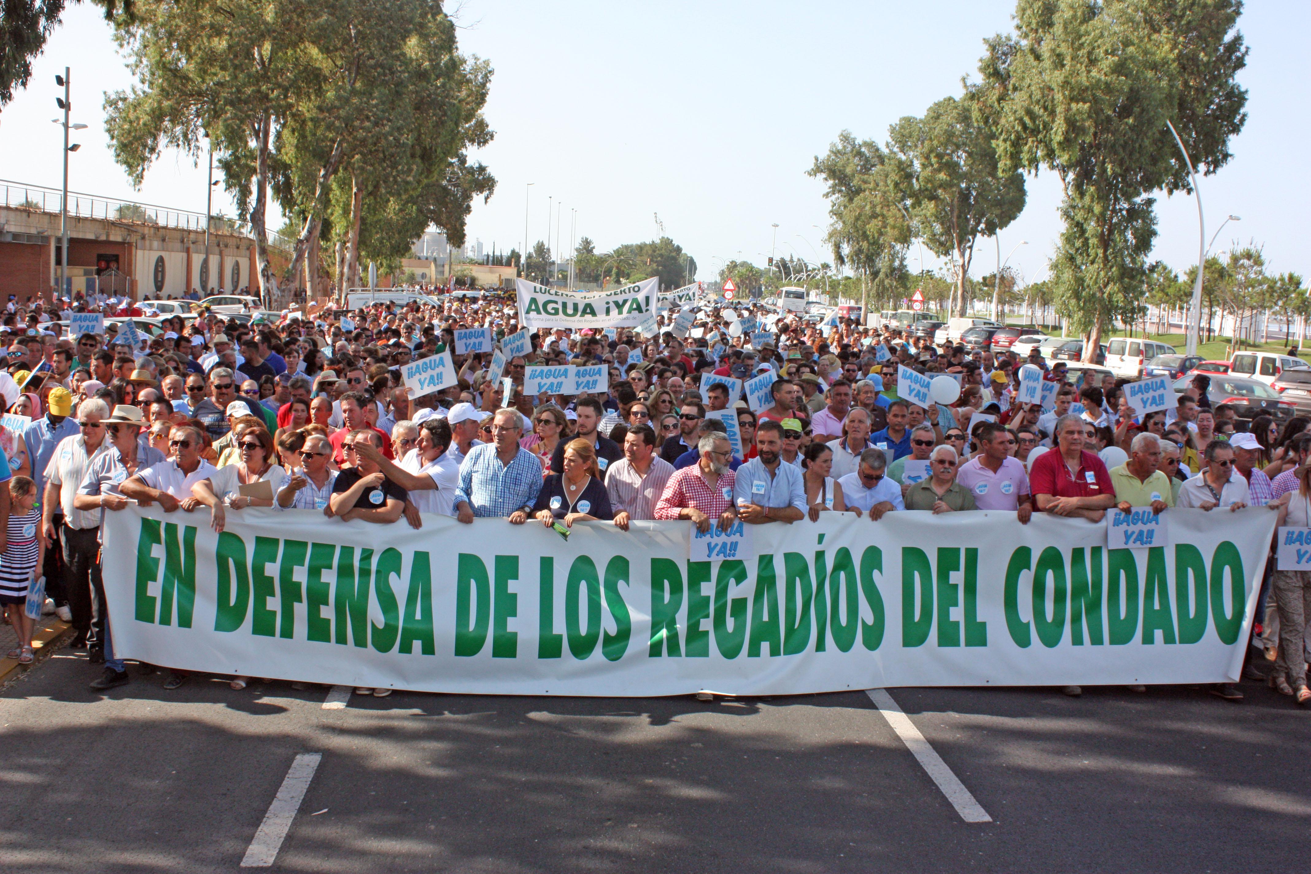 """La Plataforma espera un """"sí rotundo"""" a la Ley del Trasvase en el Congreso de los Diputados"""