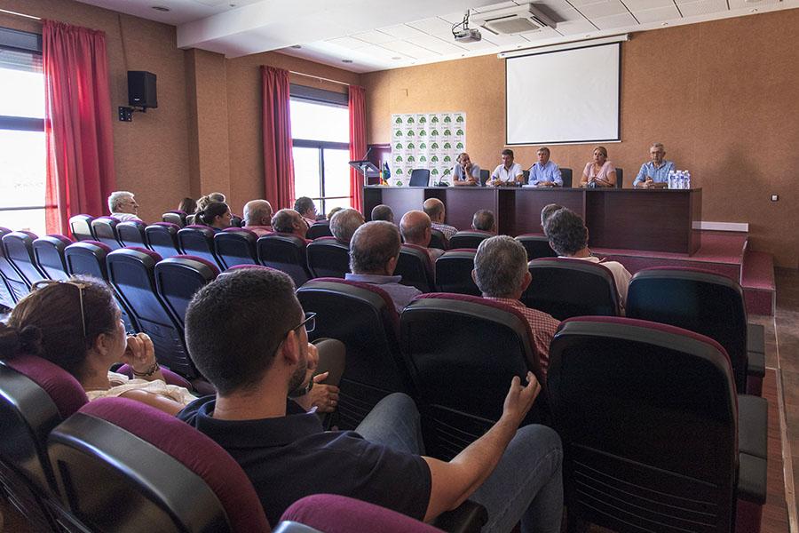Asamblea de la Plataforma en Defensa de los Regadíos