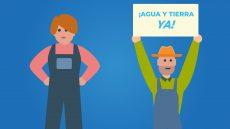 La Plataforma de los Regadíos lanza una campaña de vídeos para mostrar las demandas de los agricultores del Condado